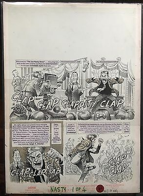 Mad Magazine #116 pg.1 of 4, Jan '68 original art by Jack Davis. Splash page