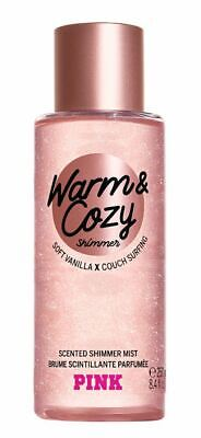 Victoria's Secret Pink New! Warm & Cozy Scented Shimmer Mist 250ml