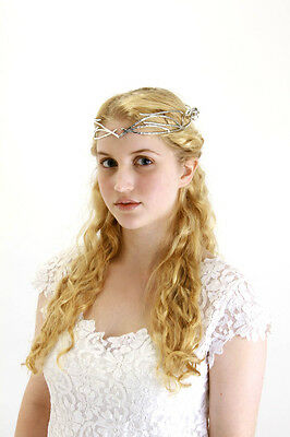 Galadriel Crown Licensed The Hobbit An Unexpected Journey Silver Metal Crown