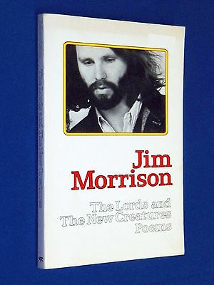 Vtg 1971 Jim Morrison Lords And The New Creatures Poems 1st Edition Touchstone