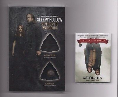 Cryptozoic Sleepy Hollow oversized costume card OM09