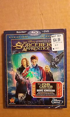 The Sorcerer's Apprentice (Blu-ray/DVD, 2010, 2-Disc Set)