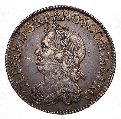 1658 Shilling Oliver Cromwell Scarce  ®249