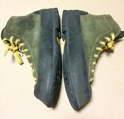 VTG Vasque Ascender Men's Size 12N Leather High Top Rock Climbing Shoes