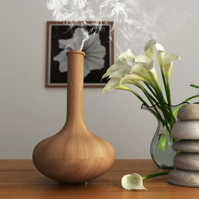 Homdox Vase Aroma Diffuser Humidifier 160ML Electric Aromatherapy Essential Oil