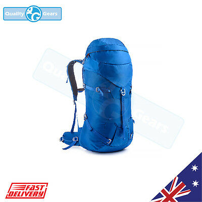 LIMITED Blue 45L + 5L Camping Travel Waterproof Tactical Rucksack Backpack bag