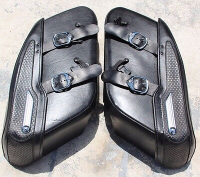 Harley Davidson Road King Saddle Bags 07935 07936!!! NICE!!! FREE SHIPPING!!!
