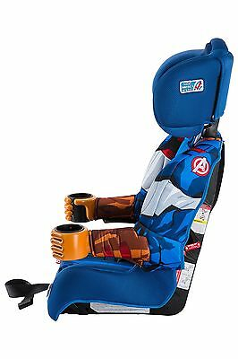 Kids Car Seat Booster Captain America Toddler Embrace Combination Travel Adjust