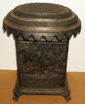 Small 1800's E. B. Colby Cast Iron & Steel Heater or Stove