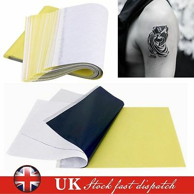 25 x A4 Hectograph Tattoo Transfer Paper Thermal Carbon Transfer Stencil Paper