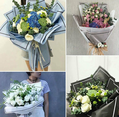 20 Sheet New Simple Style Florist Paper Gift Flower Wrapping Tissue Paper