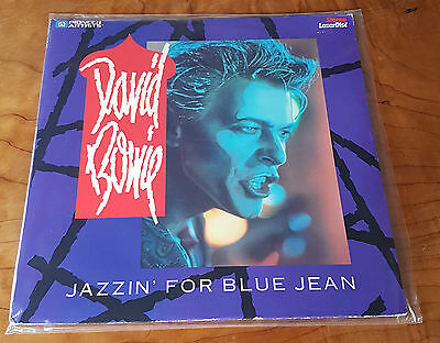 David Bowie - Jazzin' For Blue Jean 1984 U.s. Print Ntsc Emi Tonight Laser Disc