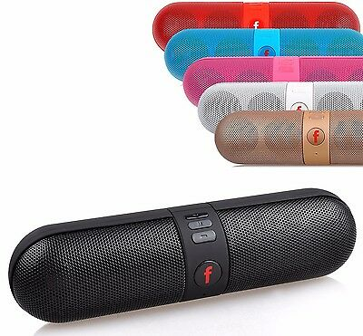 Shockproof Portable FM Stereo Wireless Bluetooth Speaker For Smart Phone Tablet