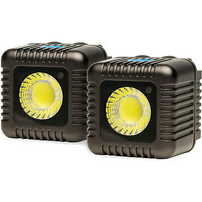 Lume Cube - TWIN PACK - GUNMETAL GREY - TWO LUME CUBE LIGHTS