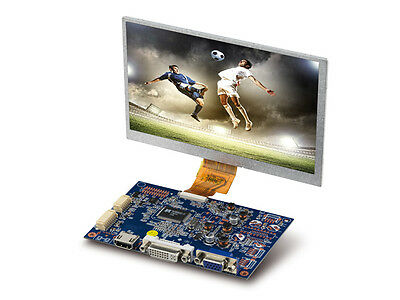 "7"" (17,8 cm) TFT LCD Display-Set mit Touchscreen, HDMI/DVI/VGA/CVBS, 1024x600"