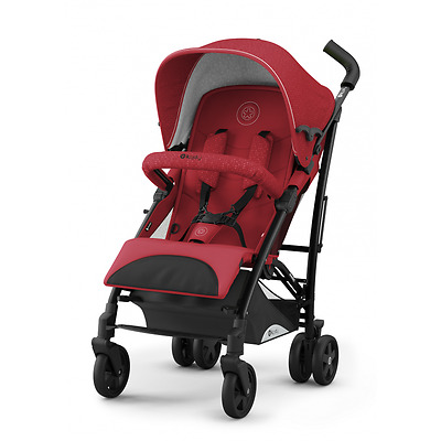 Silla de paseo Evocity 1 Ruby Red de Kiddy