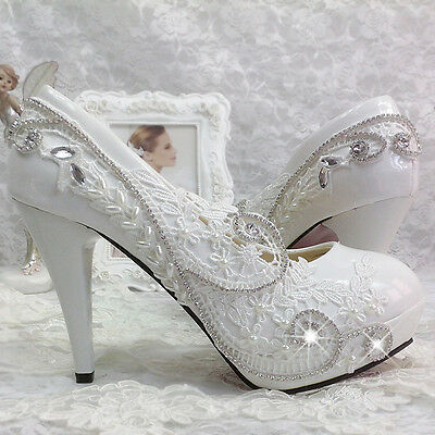 heel-white-ivory-lace-crystal-pearls-Wedding-shoes-pumps-bride-size