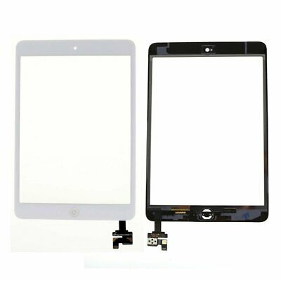 Touch Screen Digitizer Front Glass Lens For White IPAD MINI Panel Replacement