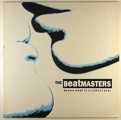 """12"""" Maxi - The Beatmasters - Dunno What It Is (About You) - D351"""