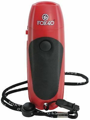 Fox 40 125dB Three Tone Electronic Hygienic Push Button Referee Sports Whistle