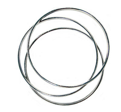 Bulk Lot X 12 Rodium Bangle Set