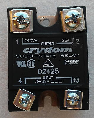 Crydom D2425 Solid State Relay, 240V 25A