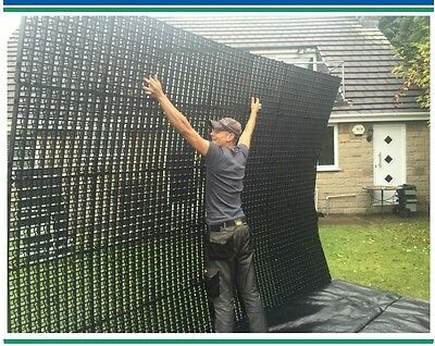 25%bg  GRAVEL GRID PACKS OF INTERLOCKING ECO GRAVEL & GRASS GRIDS DRIVE DRAINAGE