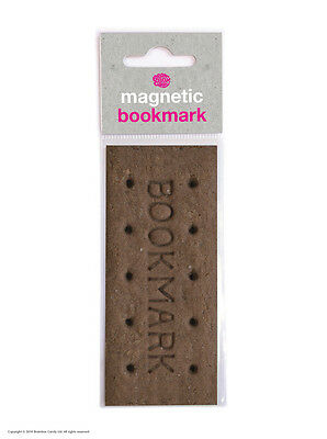 Brainbox Candy Bourbon Biscuit magnetic bookmark cheap gift funny present joke