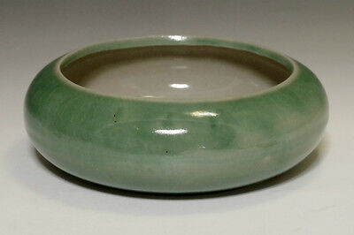 Vintage Green Chinese Porcelain Brush Washers #1672