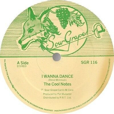 The Cool Notes - I Wanna Dance (Vinyl)