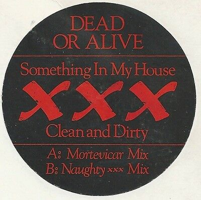 Dead Or Alive - Something In My House (XXX Clean And Dirty) (Vinyl)