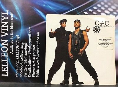C+C Music Factory Anything Goes! Double LP Album Vinyl Record 477238 Dance 90's