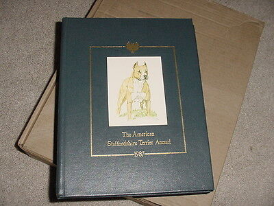 American Staffordshire Terrier Annual 1987 Limited Numbered Edition