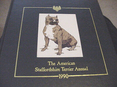 American Staffordshire Terrier Annual 1990 Limited Numbered Edition