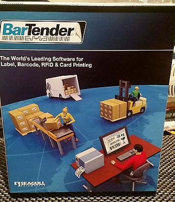 Seagull Scientific BarTender Automation BT-A3 Label Software | 3Printers | NEW