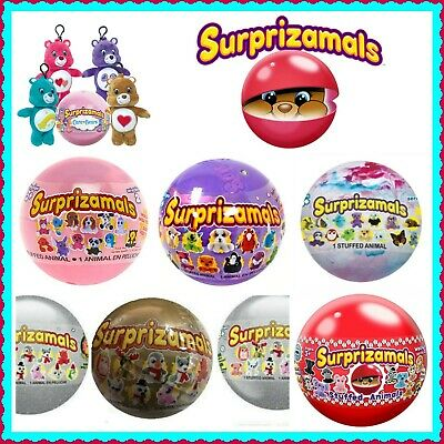 Surprizamals Stuffed Animal Wackys Mystery Balls 3 Different-U Choose! Free Ship