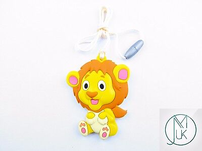 Silicone Baby Teething Necklace Pendant Lion Mum & Baby Jewellery