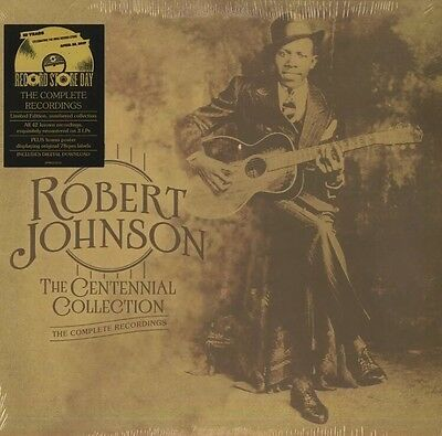 Robert Johnson 'Complete Centennial Collection' 3 X LP RSD 2017 SEALED/NUMBERED