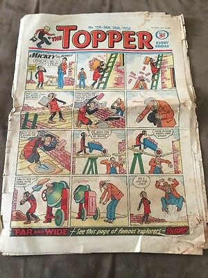 THE TOPPER Comic - Number 156 ~ 28th Jan 1956