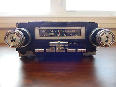 Vintage GM AC Delco 8 Track Player AM FM Radio 1976 Trans Am Pontiac Firebird