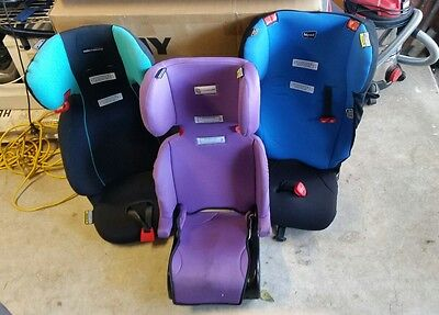 3 x BOOSTER Child Infant Car Booster Seats 4-8 years  RRP $210