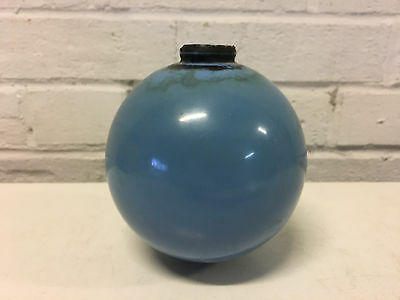 Antique Blue Glass Weather Vane / Lightning Rod Ball