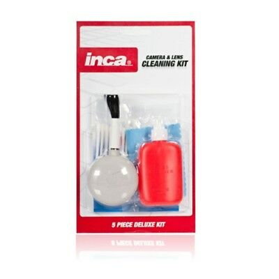 Inca Deluxe 5 Piece Camera and Lens Cleaning Kit 5..