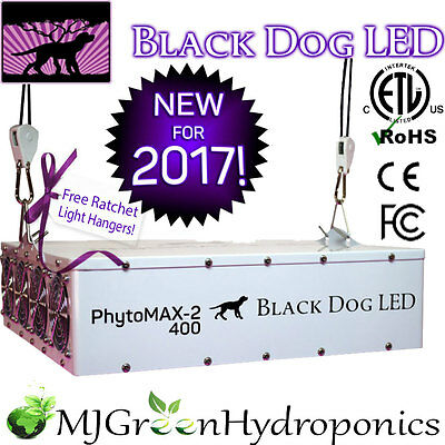 Black Dog LED PHYTOMAX-2 400 Full Spectrum Grow Light *Authorized Dealer* 420w