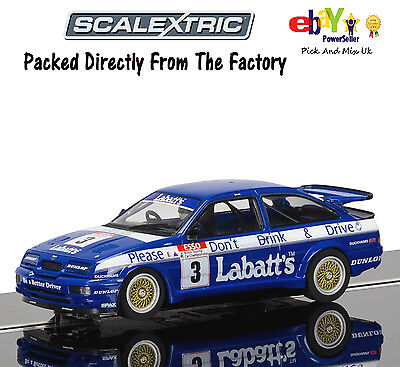 NEW IN  SCALEXTRIC Slot Car Ford Sierra RS500, Tim Harvey 1990  C3867