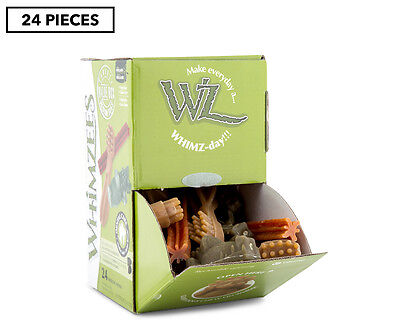 Whimzees 24pc Variety Box for Medium Dogs 720g
