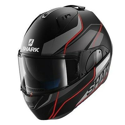 Casque moto modulable Shark Evo-One Krono Mat KAR