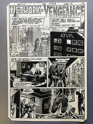 Ghosts #110, pg.12, Mar. '82, Splash page, original art by Angel Trinidad Jr.