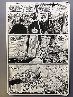 Ghosts #110, pg.19, Mar. '82, Interior page, original art by Angel Trinidad Jr.