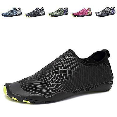 EQUICK Water Shoes Barefoot quick dry Aqua Sports Sneakers Slip on for Men...